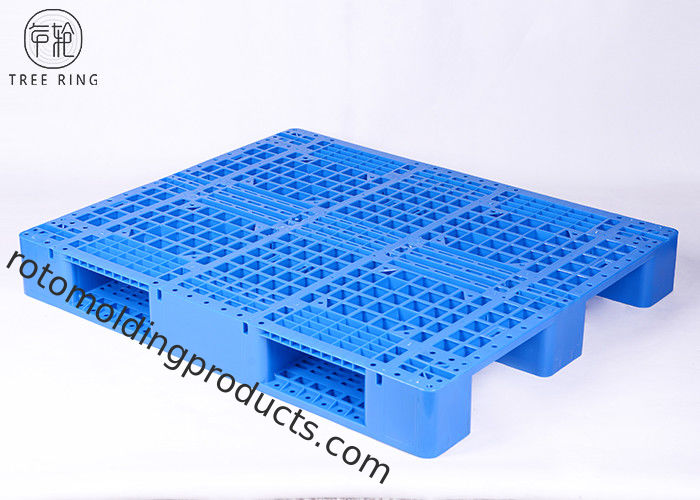 Yellow Rackable HDPE Plastic Pallets With 9000 Lbs Capacity P1210 Recycling