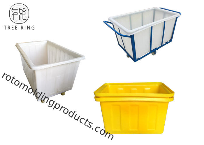 Heavy Duty Commercial Laundromat Baskets For Textile Industrial K800kg Rotational
