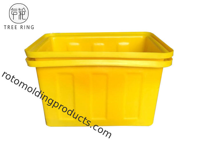 K90 Rectangular Heavy Duty Open Top Roto Molded Bin Box For Industrial Cooler Warehouse