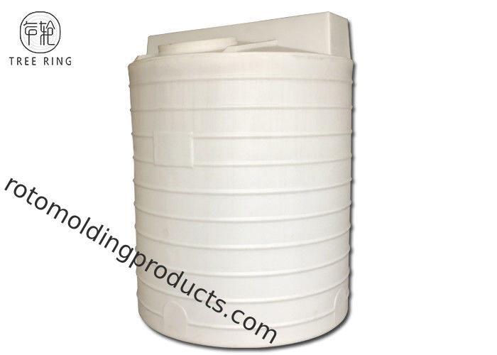 Rotational Poly Chemical Tanks With Agitator Electric Mc 3000 Acid Resistant