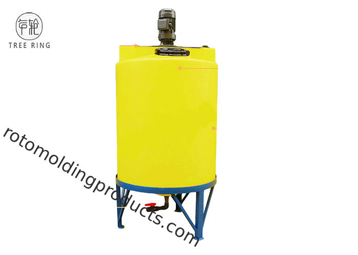 55 Gallon 135 Gallon Chemical Dosing Tank Cone Bottom Inductor With With Frame