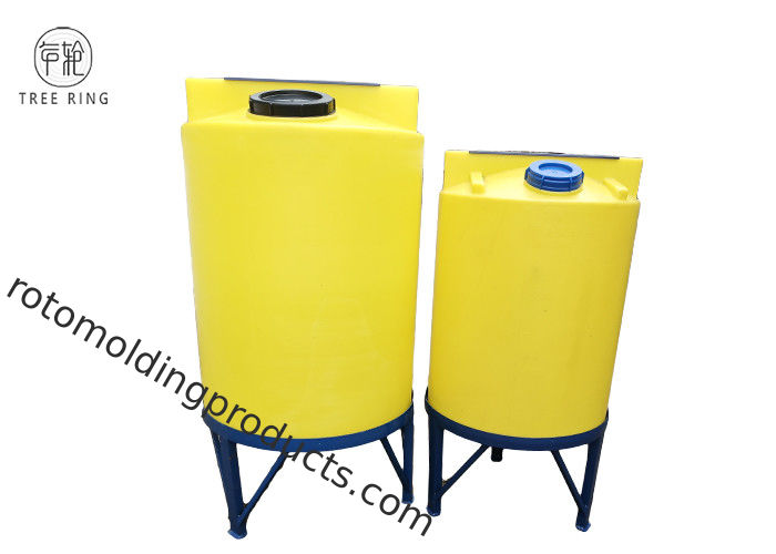 Rotational Molded Polyethylene PE Feed Storage Bins For Corn Heating Industry