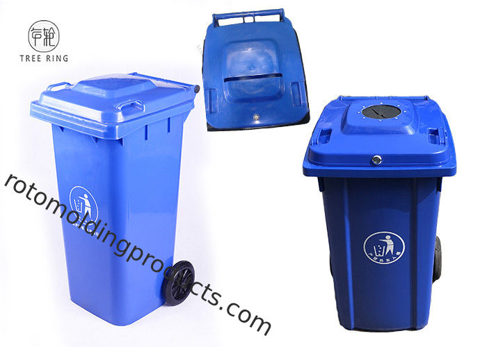 Lockable Recycled Paper Shredding Wheelie Bins Container Confidential Document Disposal
